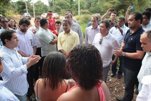 Prefeito anuncia ligação entre Av. General Artur Carvalho e Parque Vitória.