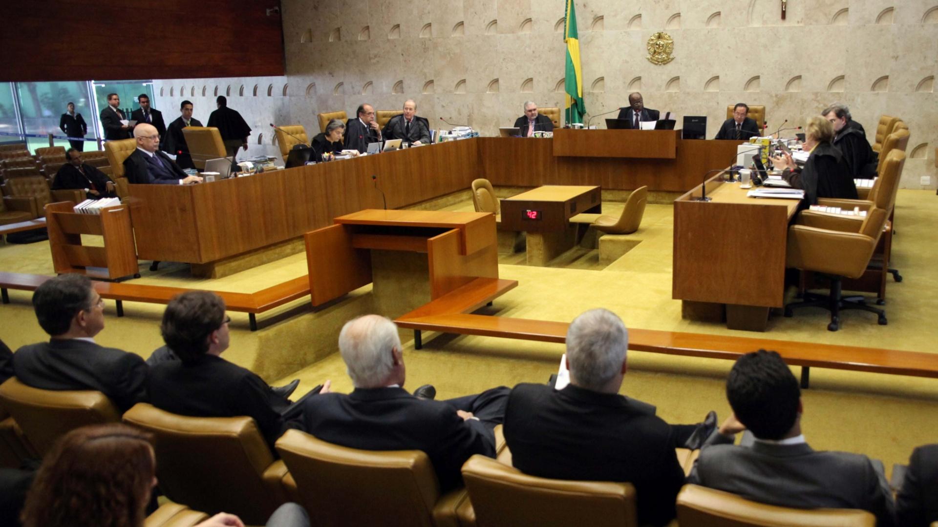 Ministros do STF encaminham projeto de lei para receberem salário de R$ 35 mil