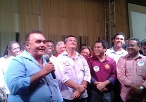 Barbosa Lages (que Edinho disse ser seu apoiador) afirmou: voto em Flávio e Roberto