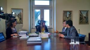 Reunião da equipe de transição com secretária chefe da Casa Civil