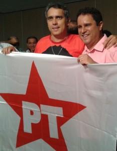 Edivaldo se aproximou muito do PT durante a campanha do segundo turno