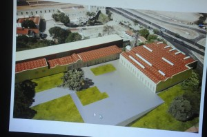 Planta como será a nova sede da Cãmara.
