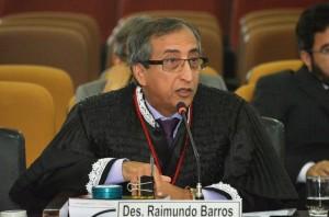 O desembargador Raimundo Barros foi o relator do processo__