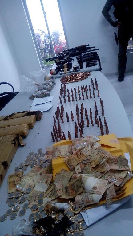 Foto2_NilsonFigueiredo - Prisão suspeitos de integrar grupo interestadual de roubo a agências bancárias