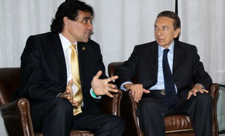 Edinho pressiona, mas Lobão teme deixar o Senado e perder o foro privilegiado