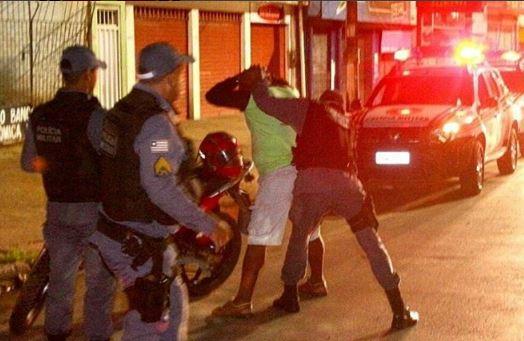 Atuação forte da Polícia na noite de ontem